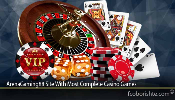 ArenaGaming88 Site With Most Complete Casino Games
